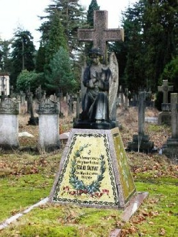 Memorial to Giulio Salviati, Brookwood Cemetery