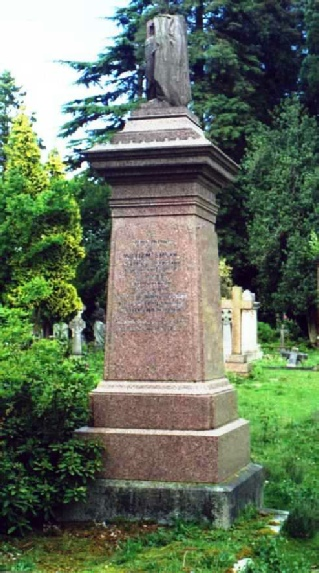Memorial to William Smyth, Brookwood Cemetery