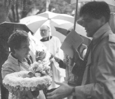 Mary Lucas and Rene Weis, Brookwood Cemetery 1993