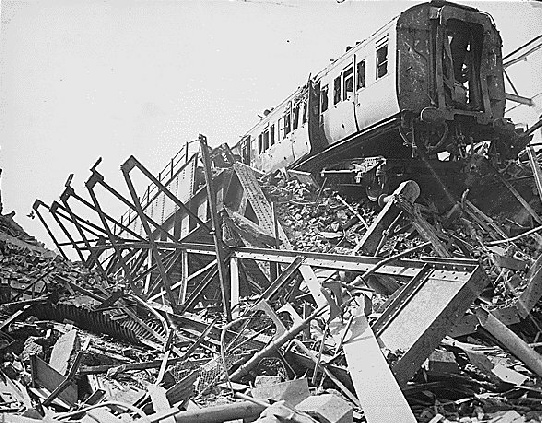 Demise of the Necropolis Railway 1941