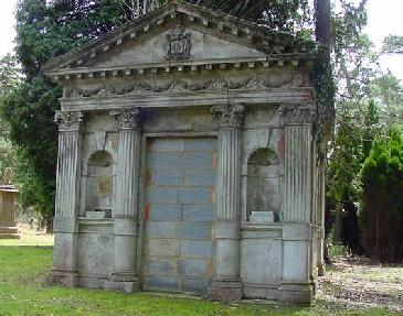 Wood mausoleum, Brookwood Cemetery