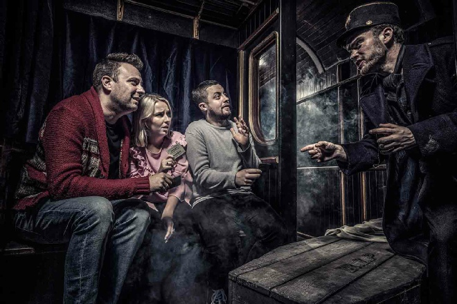 The Dead Express at the London Dungeon