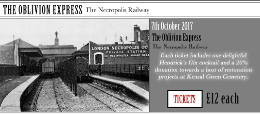 The Oblivion Express, London Month of the Dead 2017