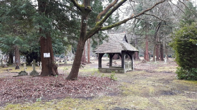 St Alban's burial ground at Brookwood Cemetery